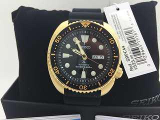 Seiko Watch Gold Turtle SRPC44