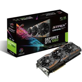 AS STRIX-GTX1060-O6G-GAMING	ASUS ROG STRIX-GTX1060-O6G-GAMING TRIPLE FAN (3Y)