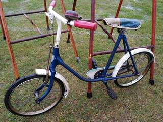 Antique child bicycle