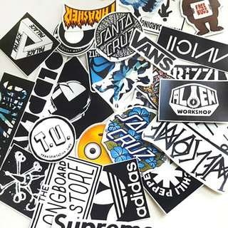🚚 Brands and Bands Stickers