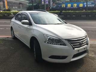 瑋哥車坊 2014 Nissan Sentra 超級白 外白內黑超好看 26.8萬 實車實價 一手車 非自售 !!!