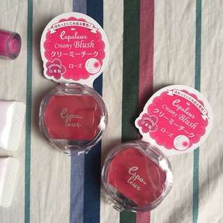 Cheek cream blush