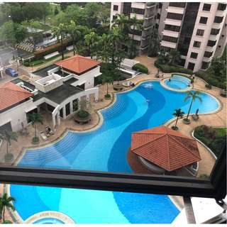 Condo Common Room(Pool View)at Jurong East street 32, The Mayfair