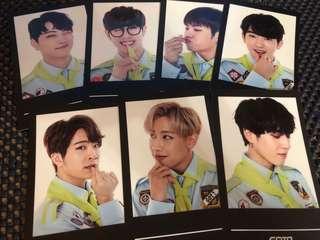 GOT7 3周年FM Photocard