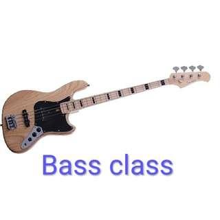 [Bass class]台北/新北 到府/工作室BASS教學