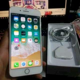 Apple Iphone 8 + Plus Gold 256 Gb 99% Mulus Fullset