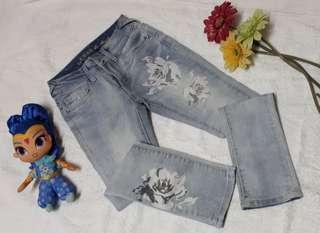 ORIGINAL GUESS FADED PANTS