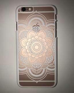 簡約少女風 mandala iPhone 6/6s Case