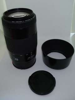 Minolta 75-300mm Zoom lens Sony A-mount, like new