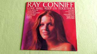 RAY CONNIFF . love will keep us together. Vinyl record