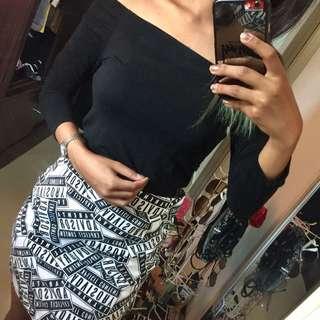 [3 FOR RM50] H&M midi skirt