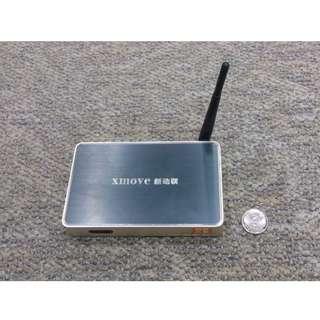 欠火牛,XMOVE 新動聯 高清 機頂盒 HDMI 電視 USB wifi 上網 LAN