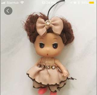 Cute Doll keychain/hanger