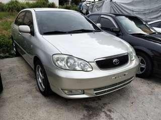 實車實價 2001 豐田 ALTIS 1.8