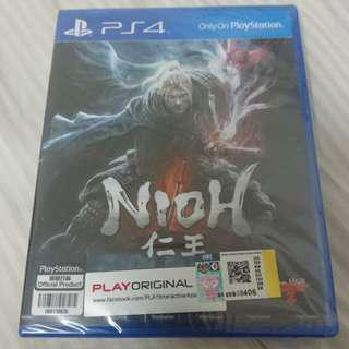 [PS4] Nioh (BRAND NEW & SEAL)