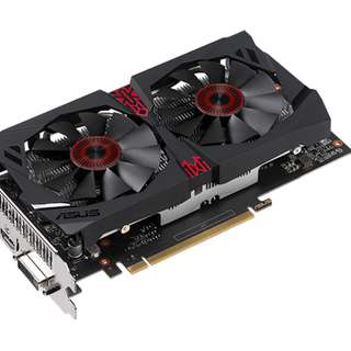 STRIX-GTX1050TI-DC2O4G-GAMING	ASUS STRIX-GTX1050TI-DC2O4G-GAMING DUAL FAN (3Y)