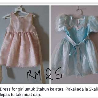 dress and tshirt for kids