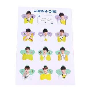 Wanna One Cute Stickers