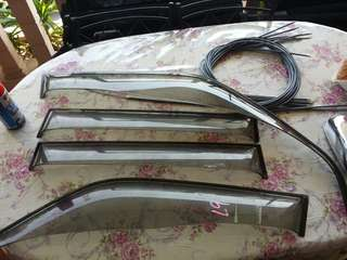 Door window visor perodua kenari move rs L9