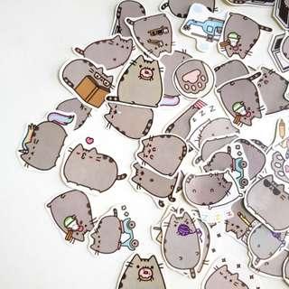 🚚 Pusheen Stickers