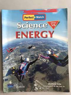 Perfect Match Science Energy Primary 5/6