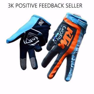 KTM GoPro Professional Motorbike Bicycle Scooter Gloves