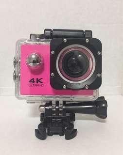 Brand New 4K UltraHD Action Camera Pink