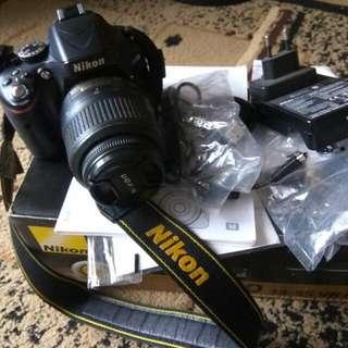 Kamera Nikon D5100 Fullset