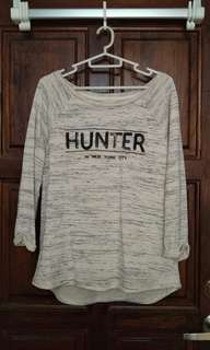 Hunter beige sweater