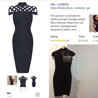 Loretta XS Gia Dress
