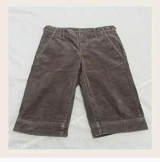 Brown Corduroy Short (Celana Korduroy Coklat)