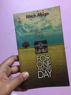 For One More Day (Malay Version)