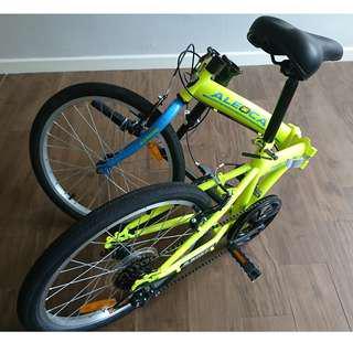 "ALEOCA 20"" Pavtenza Folding/ Foldable Bike (Lime/Green color)"