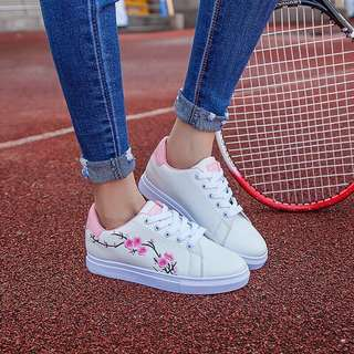 Plum sport sneakers