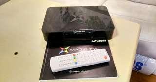 Magic TV MTV 3000 高清機頂盒