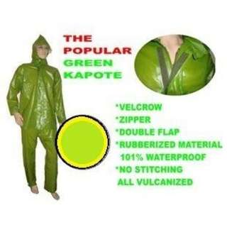 Rubberized Raincoat