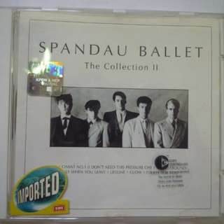 The Collection by Spandau Ballet (Compilation Hits CD)