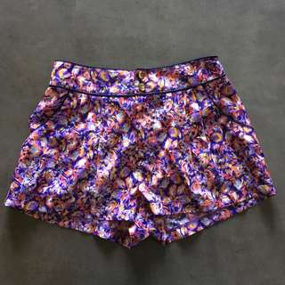 Floral Shorts Size XS