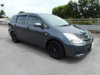 Cheapest Long Term Rental Toyota Wish 1.8A