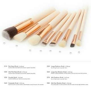 Brush set 8pcs