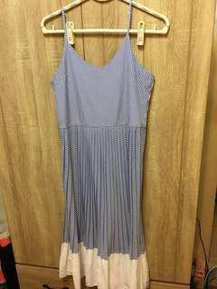 🚚 條紋長洋裝