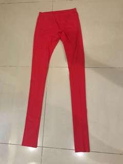 Legging merah