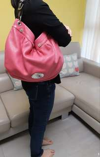殺價! Super Sale! Authentic Mulberry Pink Shoulder Bag