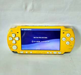 Sony Psp 2000 Rare Edition Simpsons