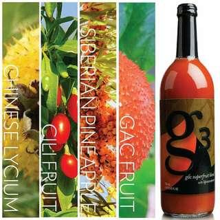 G3 x 4 Bottles