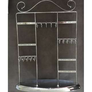 Silver Jewellery Holder Stand