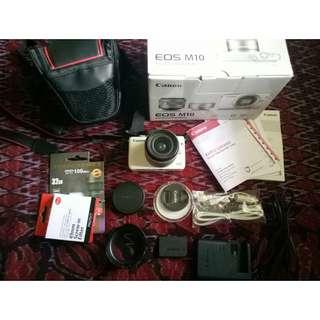 Kamera Mirrorless Canon EOS M10
