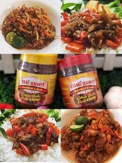 Jual Cumi & Teri Sambal Rawit Pedas Ready Stock