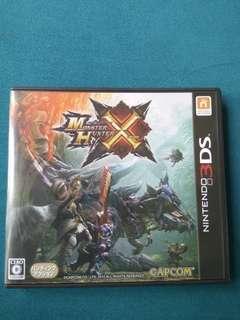 🚚 3DS - Monster Hunter X (Japanese)