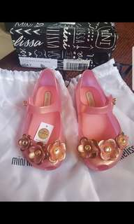 SOLD Preloved Mini Melissa Swarovski Size 7